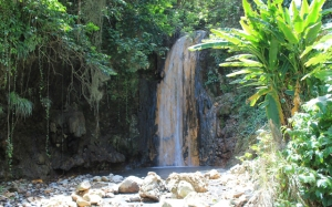 "The mineral-rich water sourced from a volcano in Soufriere, St Lucia, that many refer to as ""the fountain of youth""."