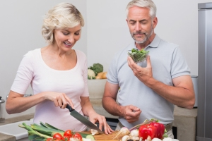 Avoid accelerated aging with diet. Photo Credit: Stone Soup